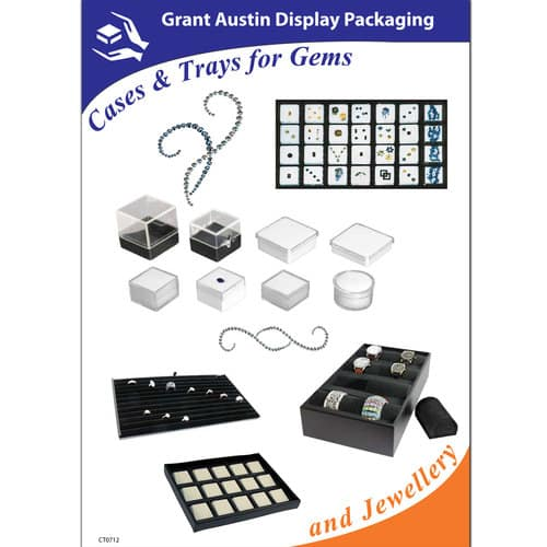 Cases & Trays for Gems & Jewellery CT0712